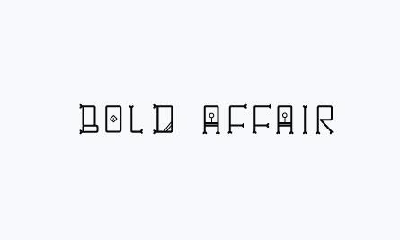 boldaffair